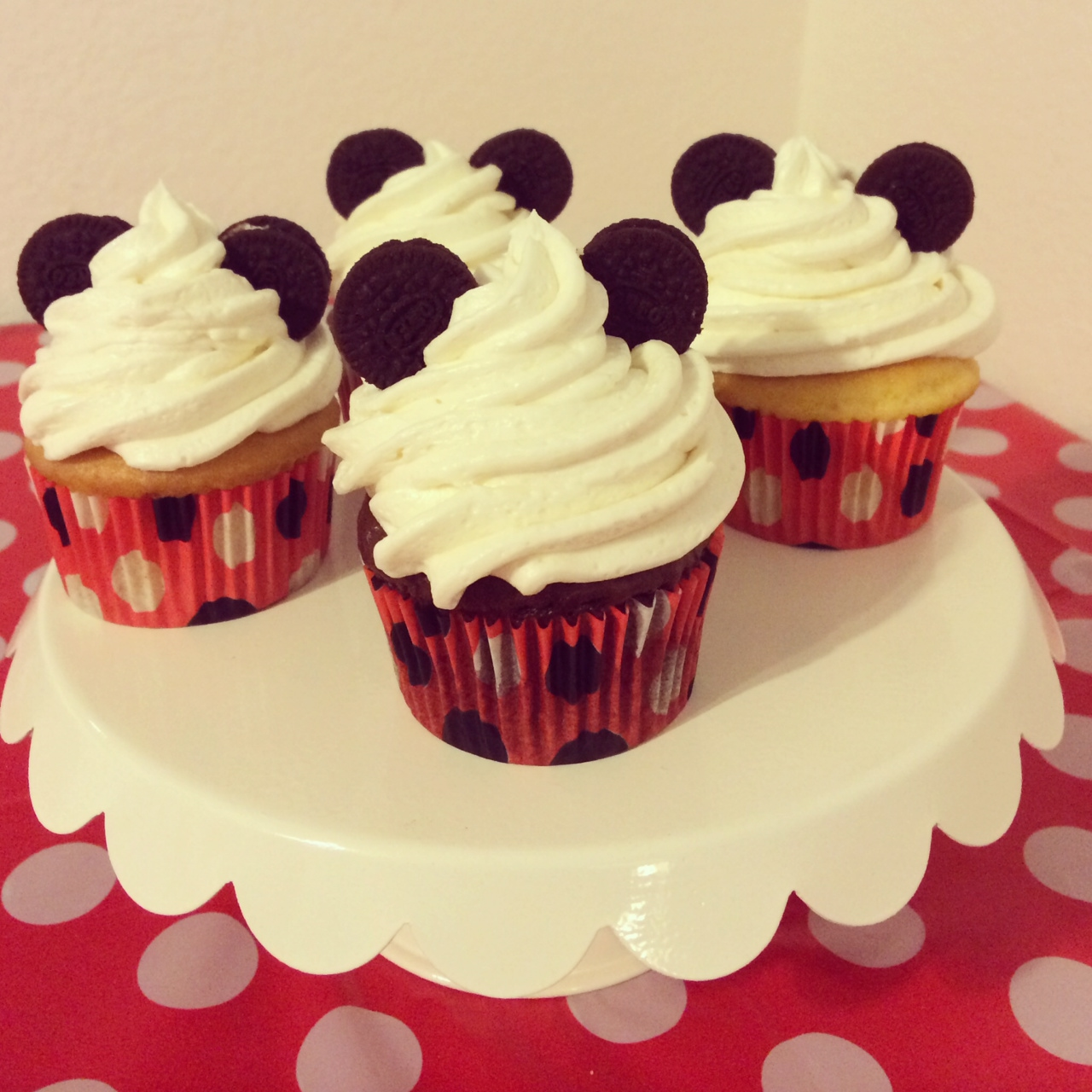 Mickey Mouse Cupcakes With Oreos Only Fine Pictures